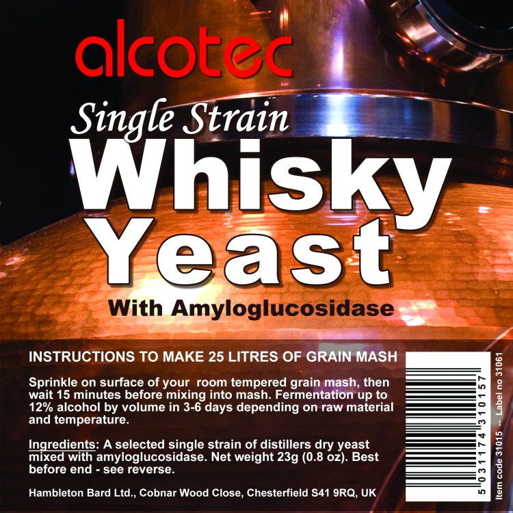 Alcotec Single Strain Whisky