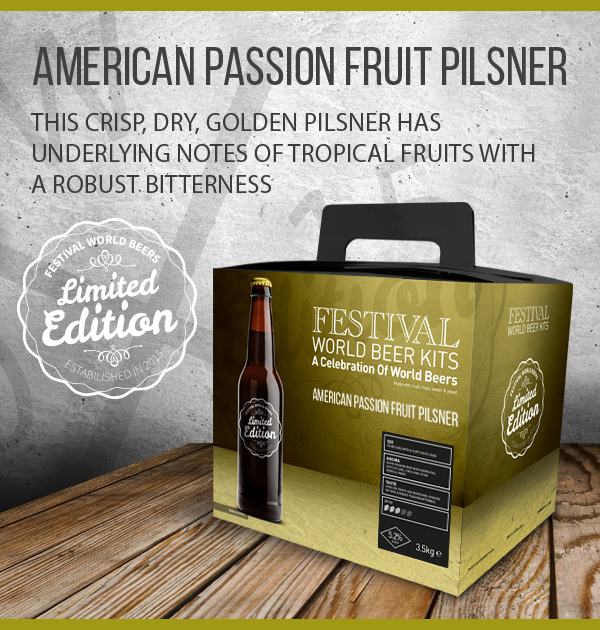 American Passion Fruit Pilsner