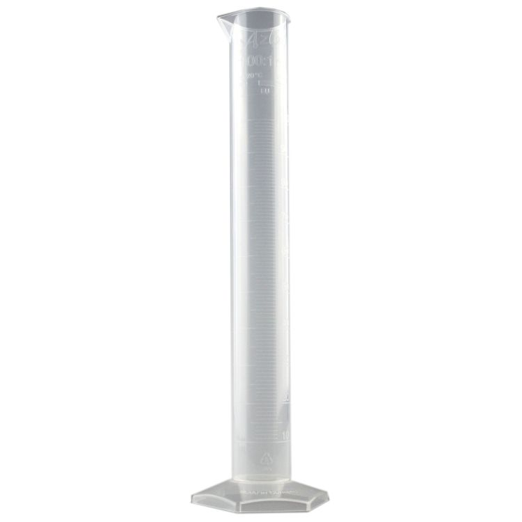 Plastic Trial/Measure Cylinder